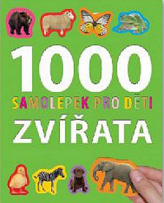 1000 samolepek pro děti – Zvířata