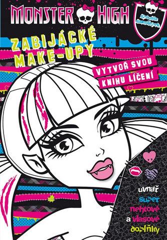 Monster High - Zabijácké Make-upy - Vytvoř svou knihu líčení