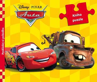 Auta - 9 dílná kniha puzzle