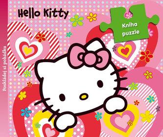 Hello Kitty - 9 dílná kniha puzzle