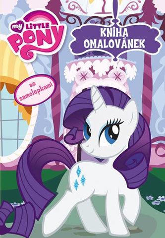 My Little Pony - Kniha omalovánek se samolepkami