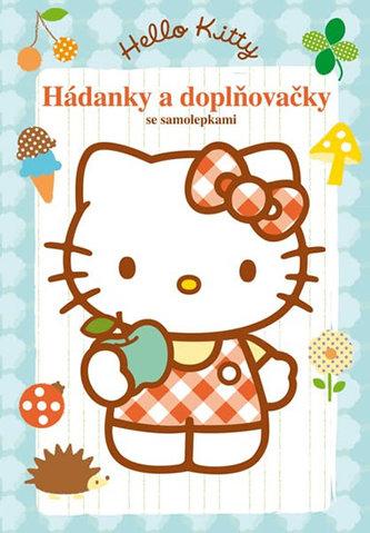 Hello Kitty - Hádanky a doplňovačky se samolepkami