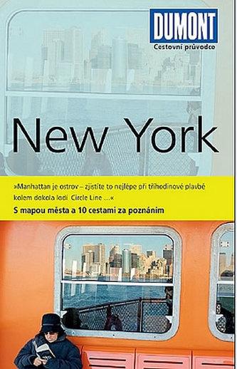 New York - Průvodce s mapou města a 10 cestami za poznáním
