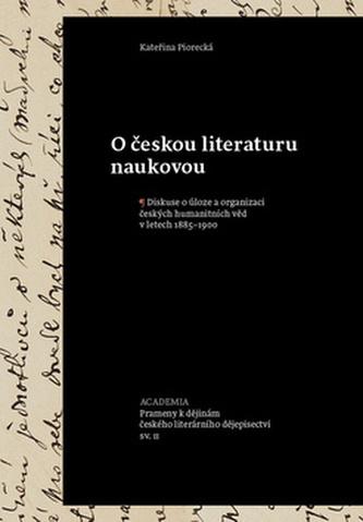 O českou literaturu naukovou