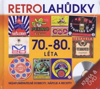 Retro Lahůdky 70. a 80. lléta - kniha + DVD