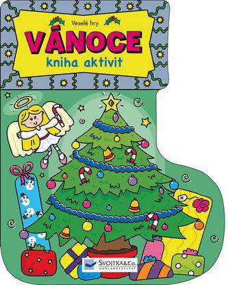 Veselé hry – Vánoce - kniha aktivit