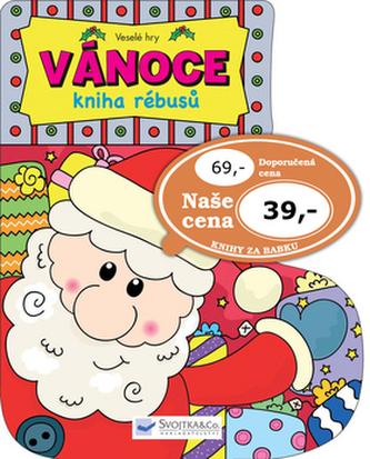 Veselé hry – Vánoce - kniha rébusu