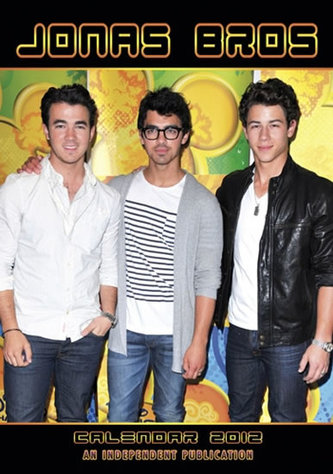 Kalendář 2012 - Jonas Brothers