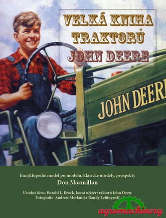 Velká kniha traktorů John Deere - Don Macmillan