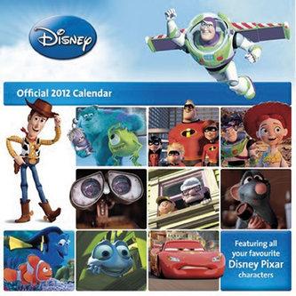 Kalendář 2012 - Pixar