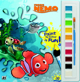 Hľadá sa Nemo Vymaľ. s vodovými farbami