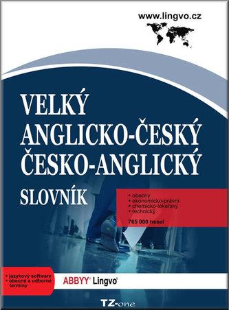 Velký anglicko-český/ česko-anglický slovník - CD-ROM