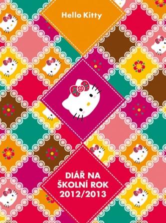 Hello Kitty - Školní diář 2012/2013