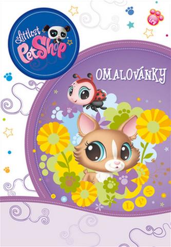Littlest Pet Shop - omalovánky
