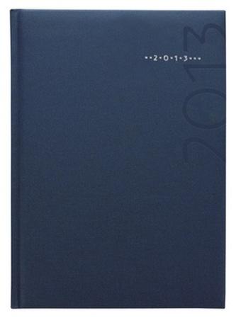 Diář 2013 denní A5 - Kronos modrý