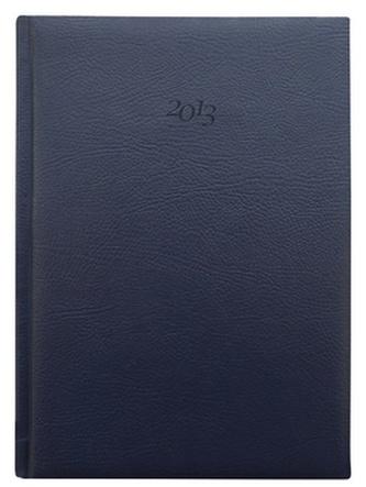 Diář 2013 denní A4 - Titan modrý