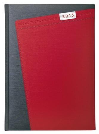 Diář 2013 denní A5 - Niké červený