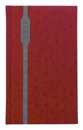 Diář 2013 kapesní - Grácie červená