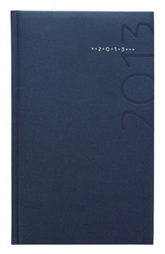 Diář 2013 kapesní - Kronos modrý