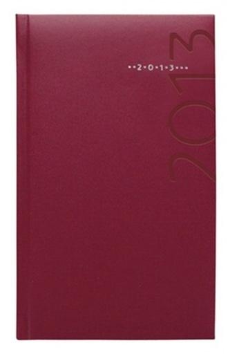 Diář 2013 kapesní - Kronos vínový