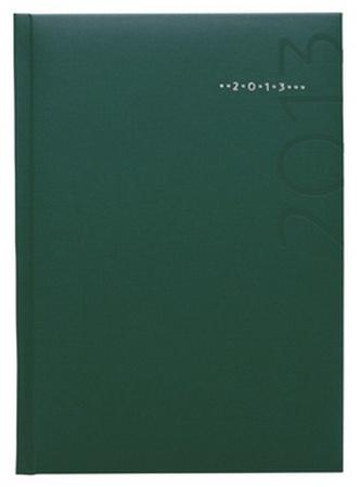 Diář 2013 týdenní A5 - Kronos zelený