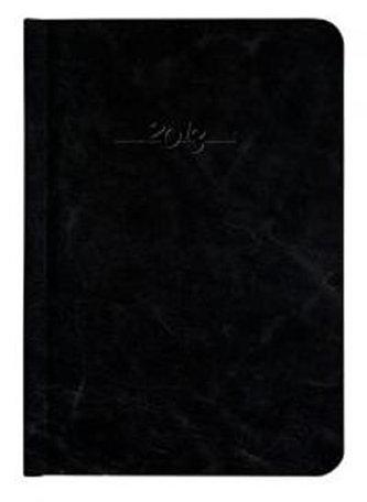 Diář kožený 2013 - CARUS černý - denní B6
