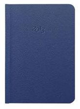 Diář kožený 2013 - CARUS modrý - denní B6