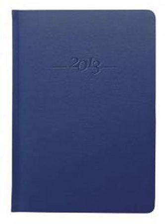 Diář kožený 2013 - CARUS modrý - týdenní B5
