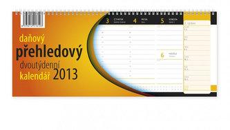 Kalendář stolní 2013 - Daňový přehledový