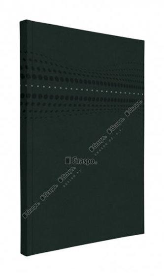 Notes STILO černý - linkovaný A5