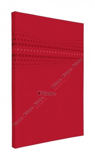 Notes STILO červený - linkovaný A5