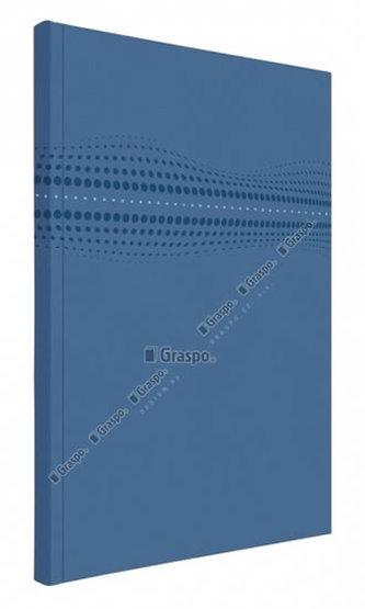 Notes STILO modrý - linkovaný A4