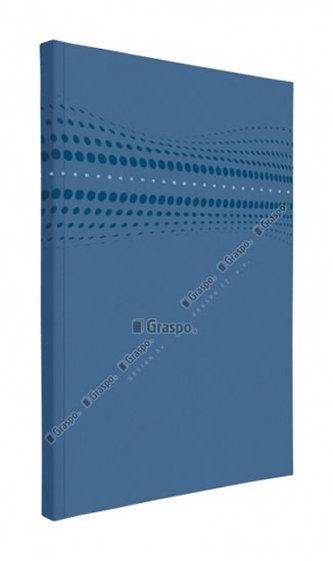 Notes STILO modrý - linkovaný A5