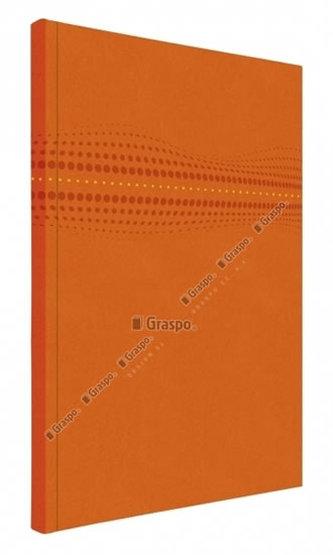 Notes STILO oranžový - linkovaný A4