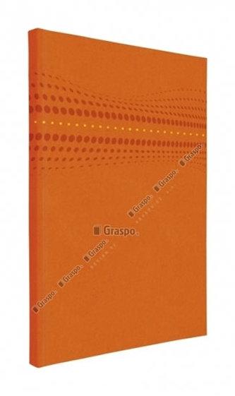 Notes STILO oranžový - linkovaný A5