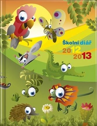 Školní diář 2012/2013 - Zvířátka
