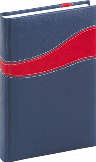 Diář 2013 - Calipso - Denní A5, modročervená, 15 x 21 cm
