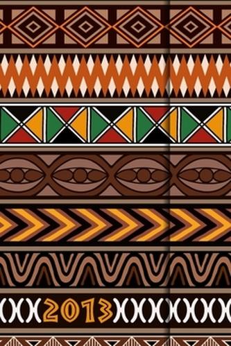 Diář 2013 - magnet. Afrika 10,5 x 15,8 cm - CZ