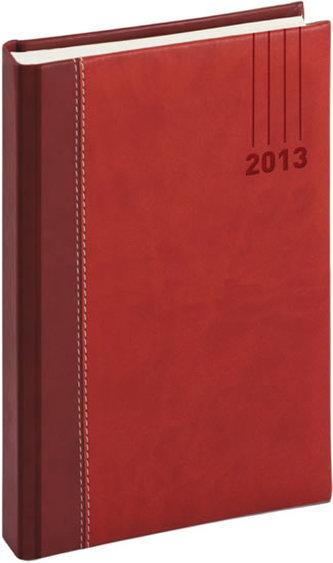 Diář 2013 - Splendor - Denní A5, vínovočervená, 15 x 21 cm