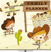 Kalendář 2013 poznámkový plánovací - Cowboys, 30 x 60 cm