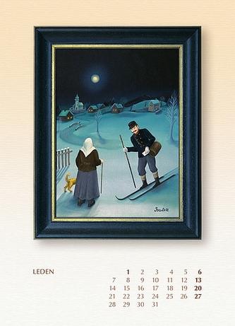Kalendář 2013 - Iva Hüttnerová - nástěnný