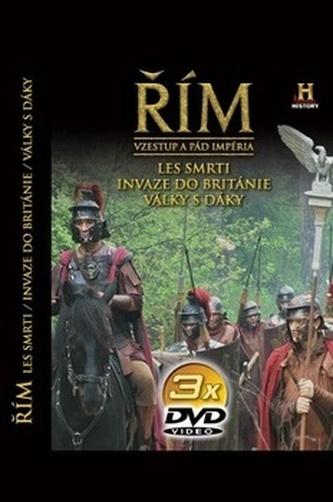 Řím - Vzestup a pád impéria - 2. díl - 3DVD