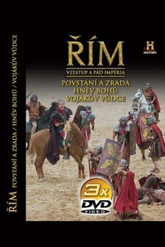 Řím - Vzestup a pád impéria - 3. díl - 3DVD