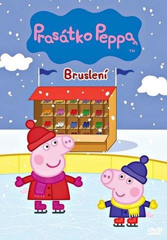 Prasátko Peppa 9 - Bruslení - DVD - papírová pošetka