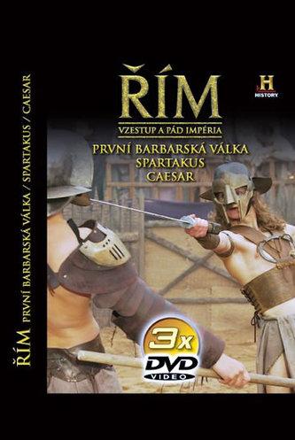 Řím - Vzestup a pád impéria - 1. díl - 3DVD