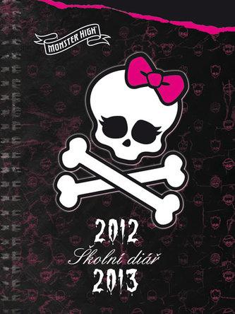 Monster High - Školní diář 2012/2013