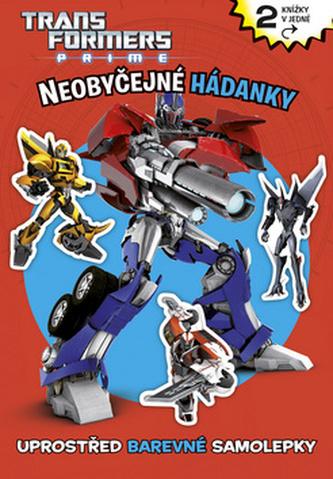 Transformers - Veselé hádanky a omalovánky