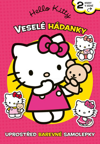 Hello Kitty - Veselé hádanky a omalovánky