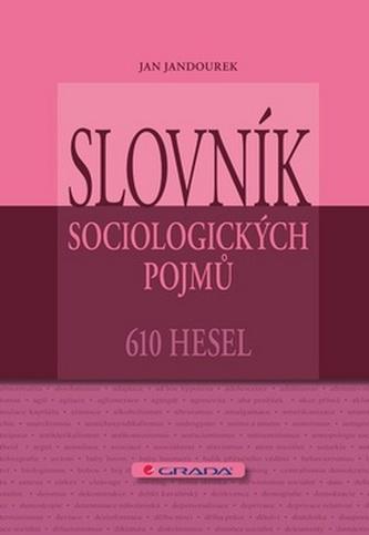 Slovník sociologických pojmů - 610 hesel