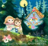 Hansel and Gretel / Perníková chaloupka - anglicky (prostorové leporeolo s loutkami)